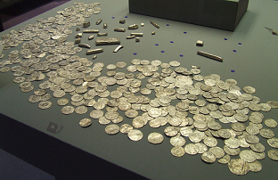 Coins and bullion from the Vale of York hoard