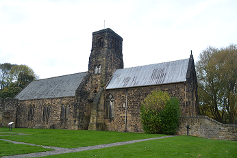 St Paul's Jarrow, showing Anglo-Saxon Tower