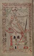 Frontispiece of Wulfstan's Psalter