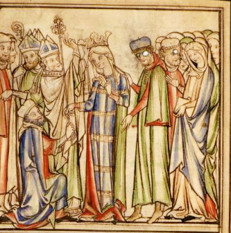 Coronation of Queen Edith