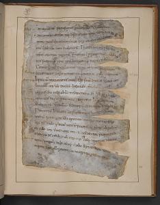 10th century copy of Gildas, De excidio Britanniae