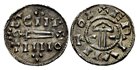 Silver penny of Sihtric Caech c. 921-927