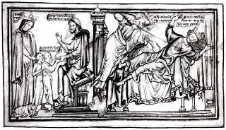 Edmund killing Sweyn,