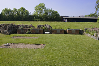 Site of four Anglo-Saxon royal graves at St Augustine's Abbey, Canterbury