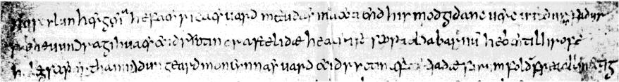 Image of Caedmon's Hymn
