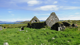 St Colman's Abbey and graveyard