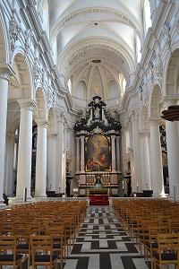 St Walburga's Church in Bruges