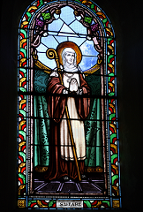 St Fara, founder of the Abbey at Brie