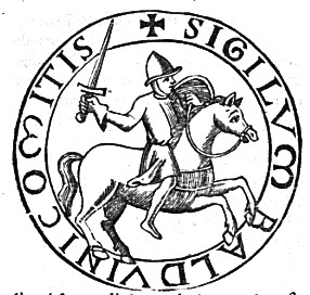 Seal of Baldwin V of Flanders