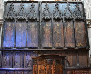 Bishops Rood Screen, Hexham Abbey