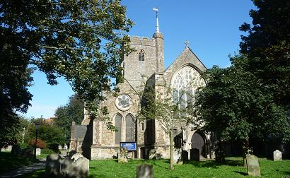St Mary and St Eanswyth. Folkestone