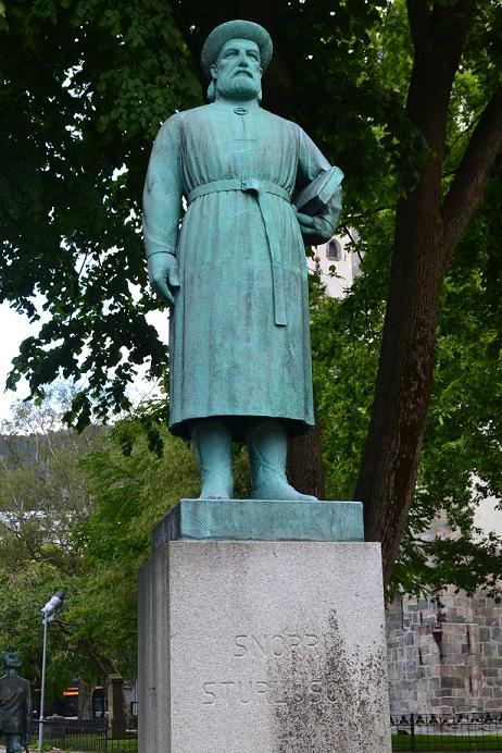 Statue of Snorri Sturlason