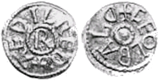 Coin of Athelred I of Northumbria