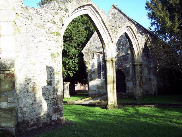 St Mary (Old Church), Wilton