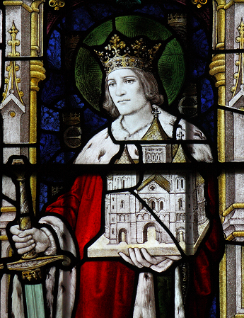 Edwin of Northumbria, at Sledmere St Mary, North Yorkshire
