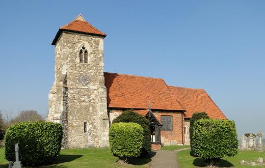 St Andrew's parish church, Ashingdon, Essex