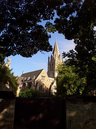 St Frideswide's Priory, now Christ Church Cathedral