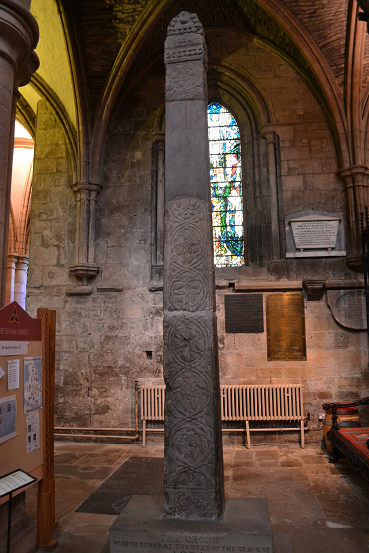 Acca's Cross at Hexham Abbey