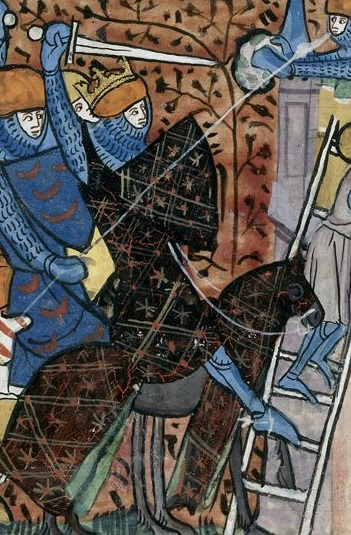 Charles Martel, Grandes Chroniques de France.