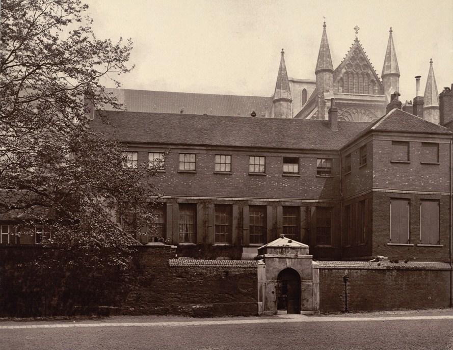 Ashburnham House in 1880, Photo by Henry Dixon