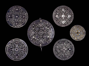 Pentney Hoard brooches
