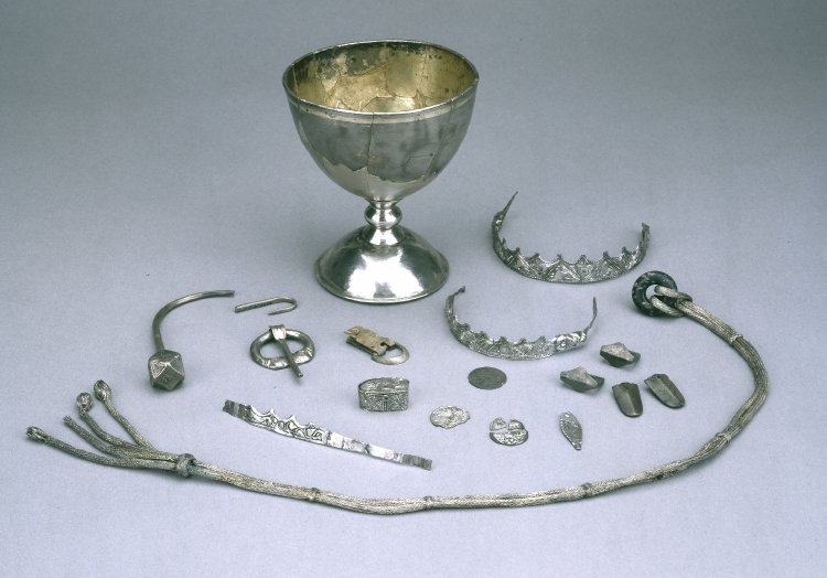Trewhiddle Hoard items