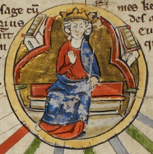 Edward the Elder in 13th century genealogy