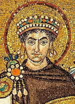 Mosaic of Justinian at San Vitale