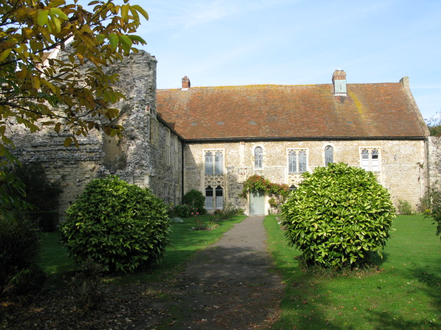 Minster Abbey, on the Isle of Thanet