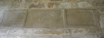 Orm's sundial, St Gregory's Minster, Kirkdale