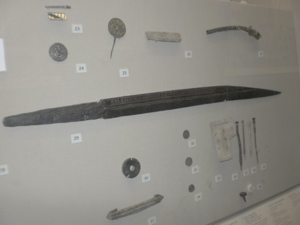 The Seax of Beagnoth