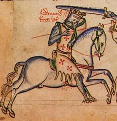 Battle of Assandun. Edmund Ironside