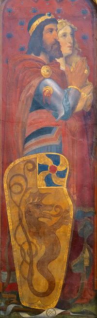 Baldwin I of Flanders and Judith of France, Jan van der Asselt