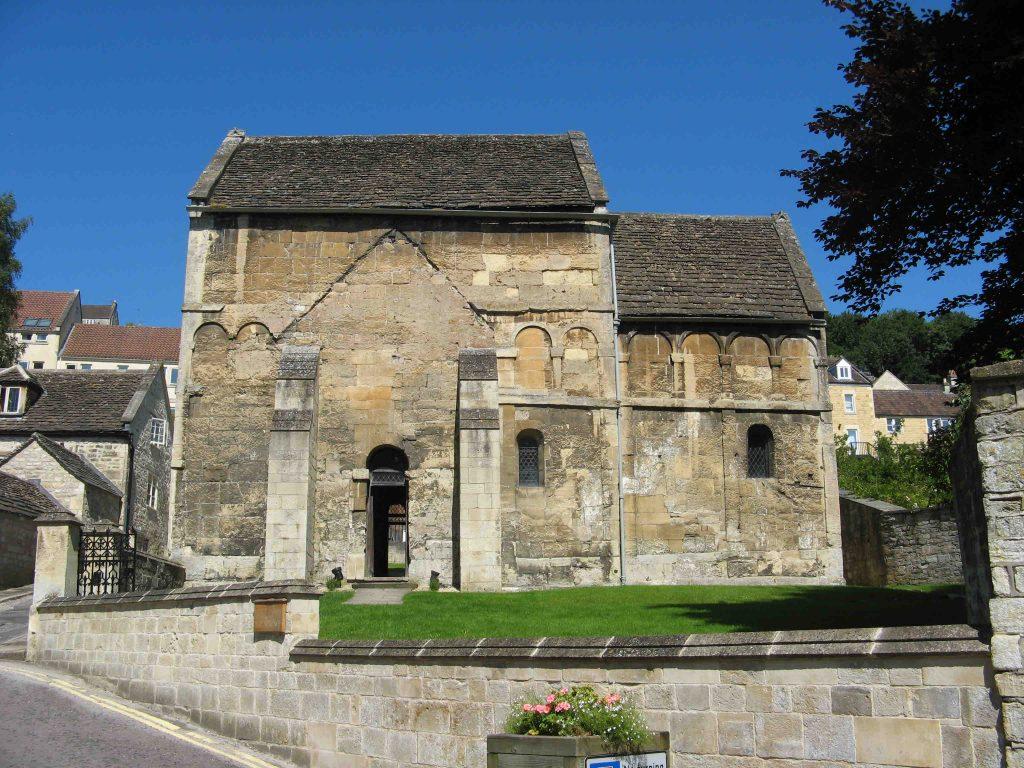 Exterior of Bradford upon Avon Church