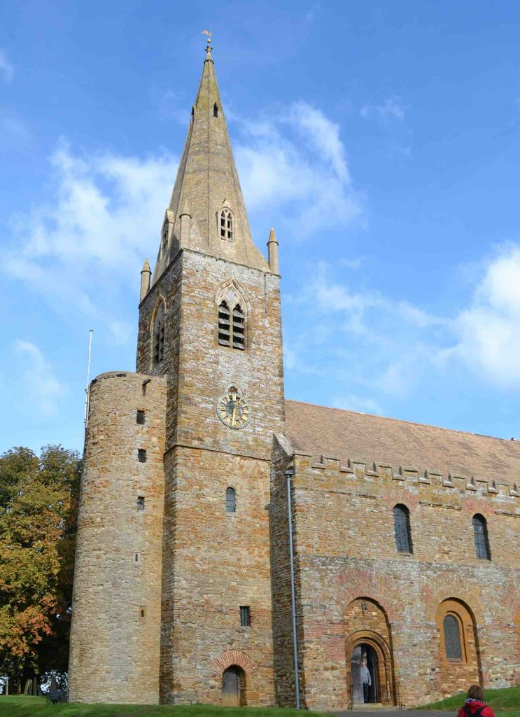 Exterior of Brixworth Church