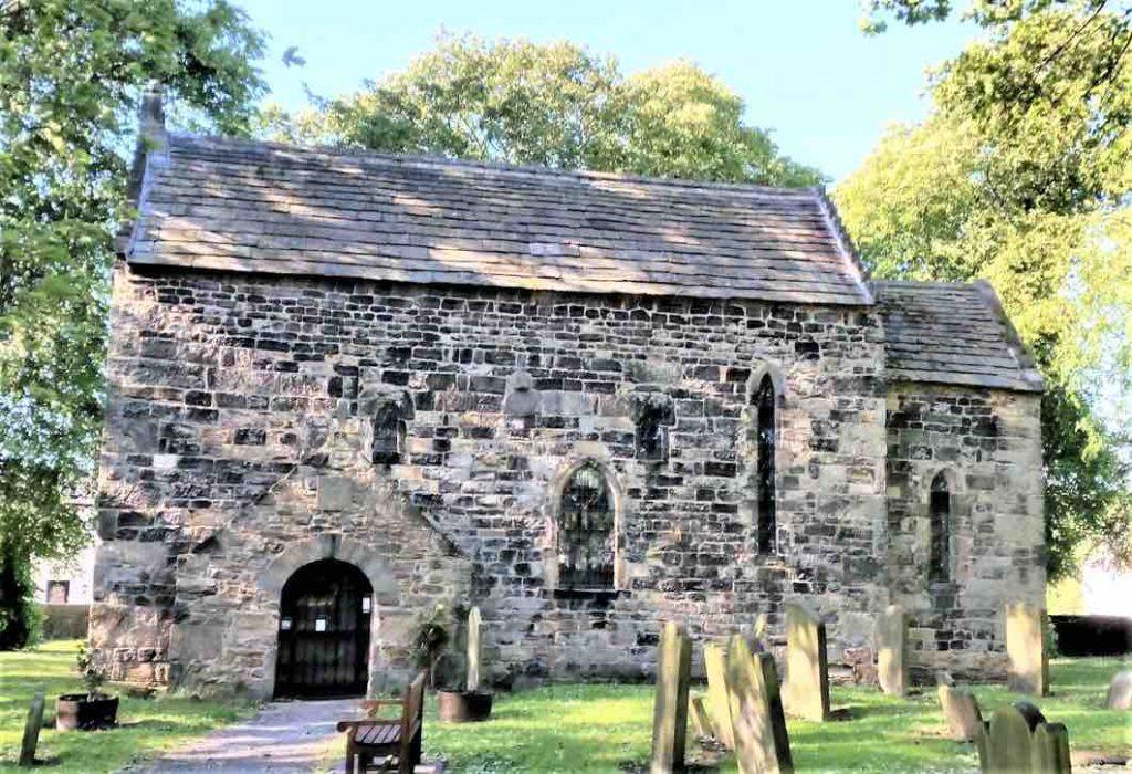 Exterior of Escomb Church