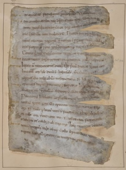 Gildas, De excidio Britanniae, 10th c. Cotton MS Vitellius A VI f15r, (c) British Library