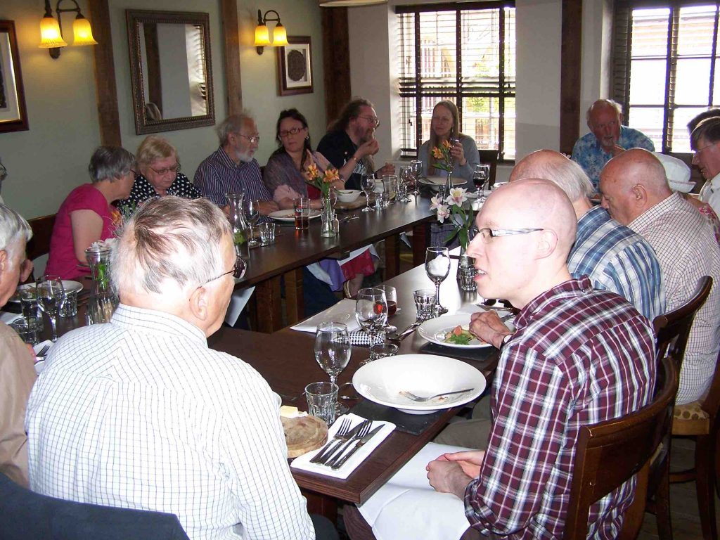 Members at the Symbel Feast
