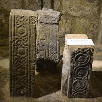 Lastingham stone fragments