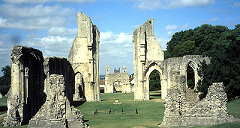 Ruins of the Abbey at Glastonbury
