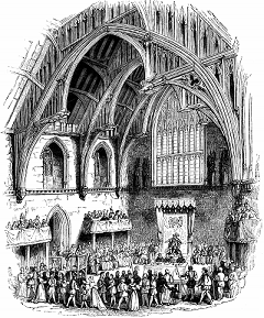 Interior of Westminster Hall