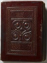 The St Cuthbert Gospel of St John, cover