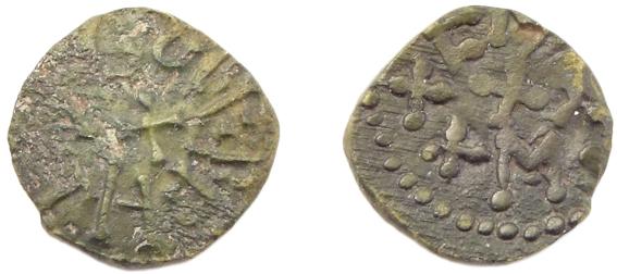 Styca coin, struck circa 862-867 AD,