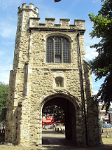 Barking Abbey curfew Tower at St Margaret's, Barking, East London