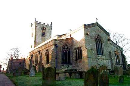 Church of St Mary and St Alkelda, Middleham