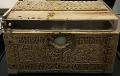 Front panel of Franks casket