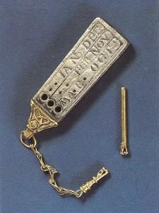 Anglo-Saxon Portable Sundial