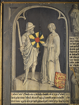 Count Baldwin II of Flanders and Countess Elftrude
