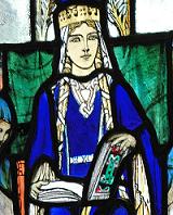 St Margaret window, St. Margaret's Chapel, Edinburgh
