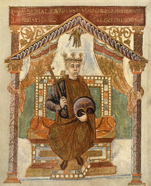 Charles the Bald in old age; Psalter,
